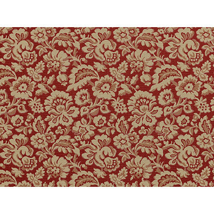 Cambridge 137 Antique Red Covington Fabric Wovens Fabric - charlestonfabrics.com