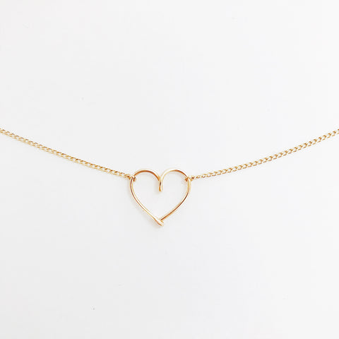 Mini Heart pendant Necklace