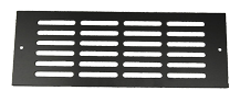 Oasis Faceplate 4 x 12 Grill Black Anodized for - PN: 1057