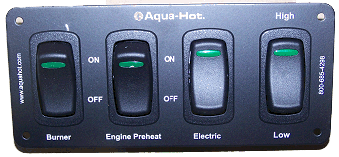 4 Position Switch Panel