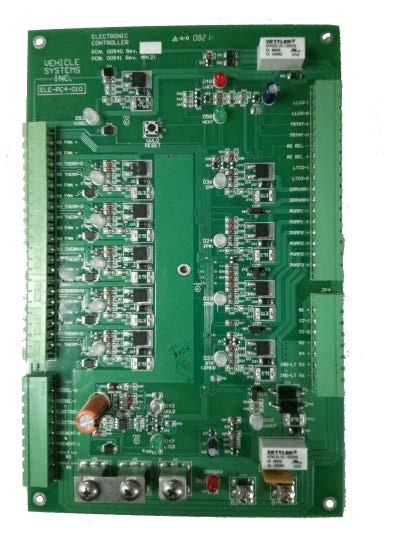 Electronic 12 VDC Control Board ELE-PC4-010-AA