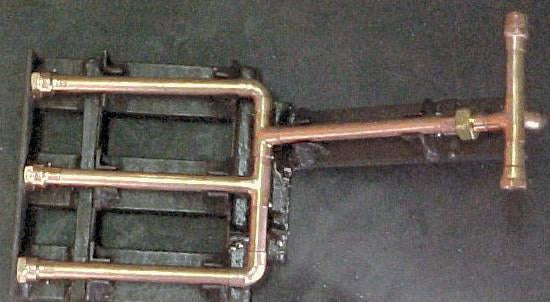 3 Zone Pipe Return Manifold Assembly