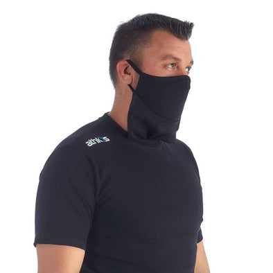 Athlos Protector-Face Mask T-Shirt - Men's