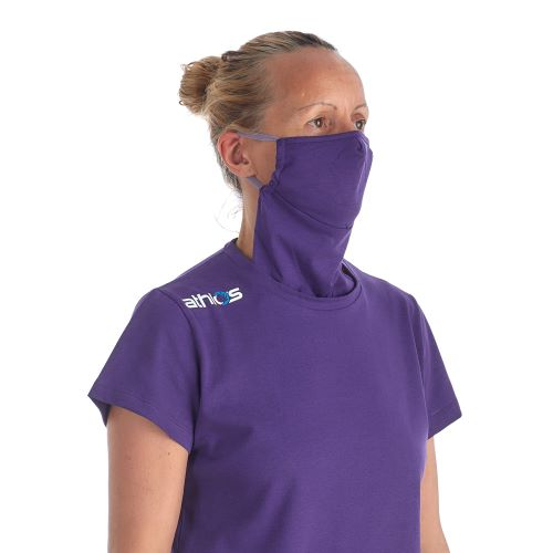 Athlos Protector-Face Mask T-shirt- Women's