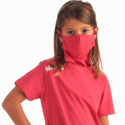 Athlos Protector-Face Mask T-Shirt - Girl's