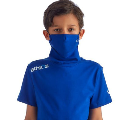 Athlos Protector-Face Mask T-Shirt - Boy's