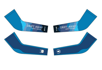 Breakaway Arm Warmer - Drift Away