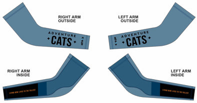 Chase Arm Warmer  - Adventure Cats