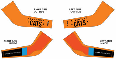 Chase Arm Warmer  - Adventure Cats Design #2