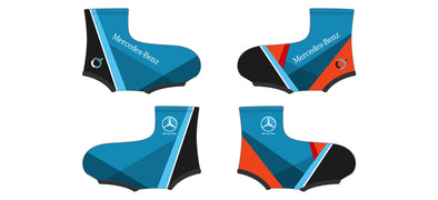 Breakaway Shoe Cover - Team Mercedes Boise