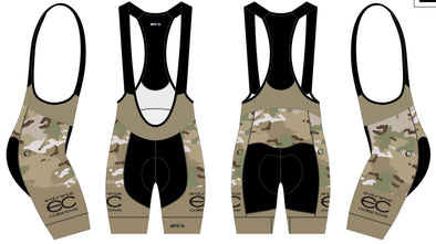 Split-Zero Bib-Short Men's  - Endurance Collective Camo