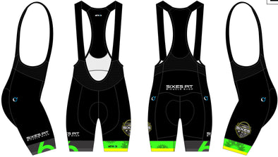 Split-Zero Bib-Short Men's  - Sixes Pit