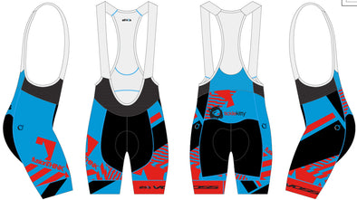 Split-Zero Bib-Short Men's  - Athlos-VOSS-fusionTHINK