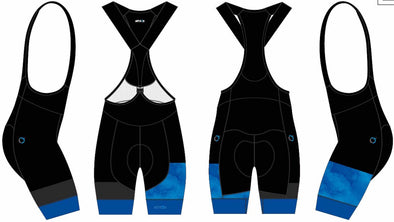Split-Zero Bib-Short Women's