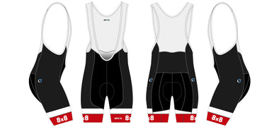 Breakaway Bib-Short Men's - 8X8