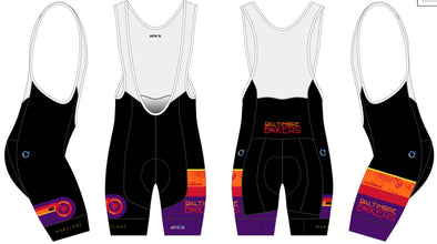 Breakaway Bib-Short Men's - Baltimore Bikers
