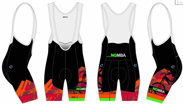 Breakaway Bib-Short Men's - NGMBA
