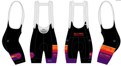 Breakaway Bib-Short Women's - Baltimore Bikers