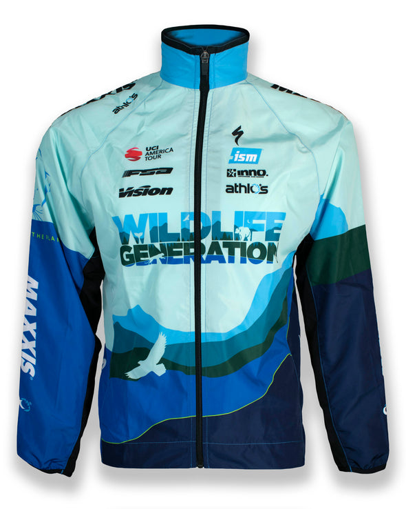 Breakaway Wind Shell - Wildlife Generation Pro Cycling