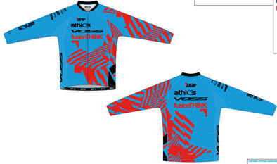 Split Zero Long Sleeve Jersey Men's - Athlos-VOSS-fusionTHINK