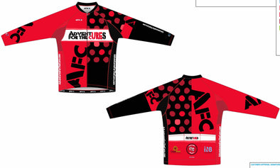 Split Zero Long Sleeve Jersey Men's - Adventures for the Cure