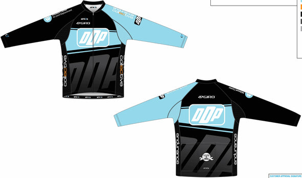 Split Zero Long Sleeve Jersey Men's - Team DDP