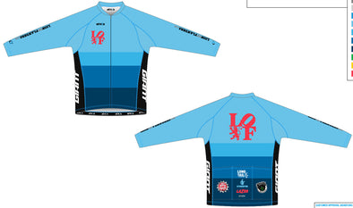 Split Zero Long Sleeve Jersey Men's - Lion of Flanders