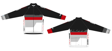 Breakaway Long Sleeve Jersey Men - Huffy Racing