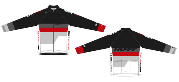 Breakaway Long Sleeve Jersey Women - Huffy Racing