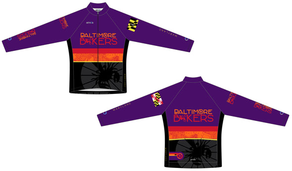 Breakaway Long Sleeve Jersey Women's - Baltimore Bikers