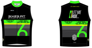 Squad One Sleeveless Jersey Mens - Sixes Pit
