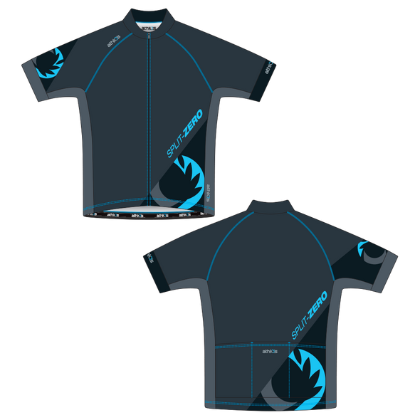 Split-Zero Feather Jersey Men's