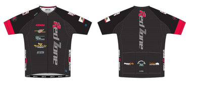 Split-Zero Feather Jersey Men's - Red Zone Racing