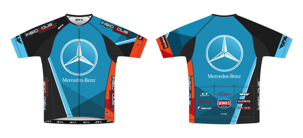 Split-Zero Feather Jersey Men's - Team Mercedes Boise