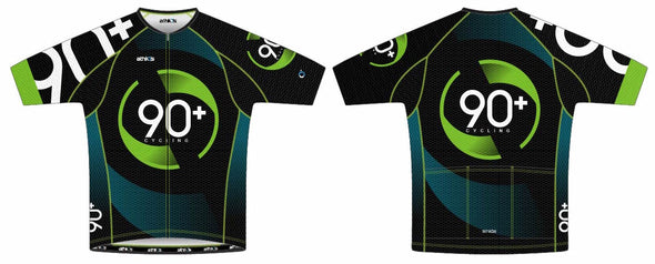 Split-Zero Feather Jersey Men's - 90+ Cycling