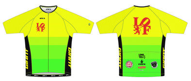 "Split-Zero Feather Jersey Men's - Lion of Flanders ""Neon"""