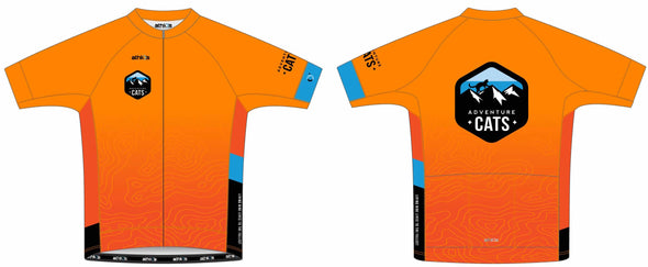 Breakaway Volta Jersey Men's - Adventure Cats Design #2