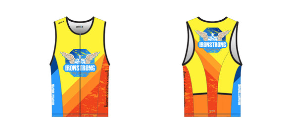 Chronos Tri Jersey Men's - Ironstrong