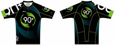 Tri Jersey Short Sleeve Men's - 90+ Cycling