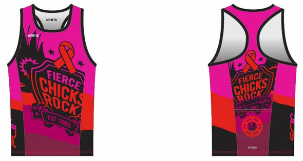Chronos Tri Jersey Racerback Women's - Fierce Chicks