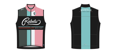 Breakaway Wind Vest - Rebels