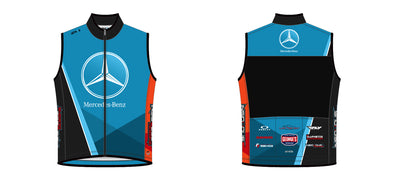 Breakaway Wind Vest - Team Mercedes Boise