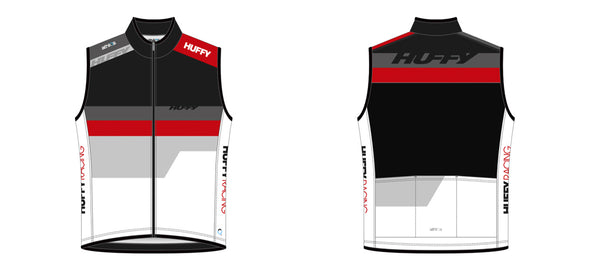 Breakaway Wind Vest - Huffy Racing