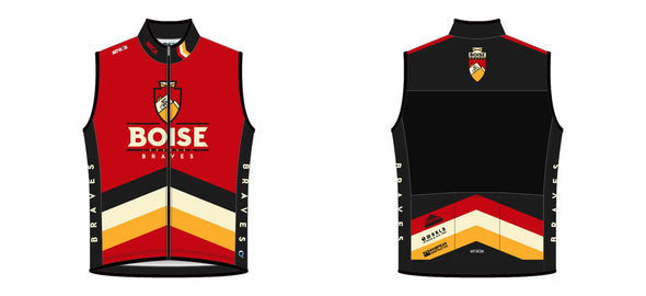 Breakaway Wind Vest - Boise Braves