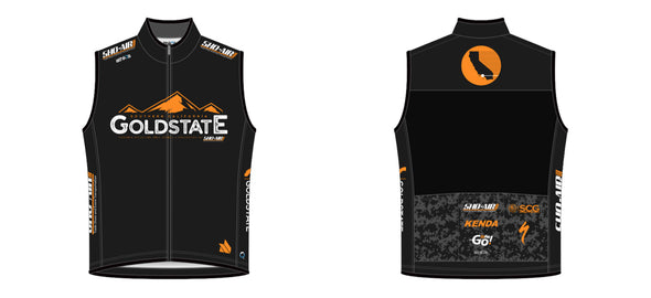 Breakaway Wind Vest - Goldstate Series