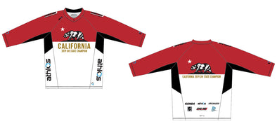 Gruve MTB Jersey 3/4 Sleeve  - California DH State Campion