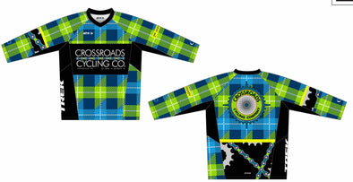 Gruve MTB Jersey 3/4 Sleeve  - Crossroads Cycling Co.