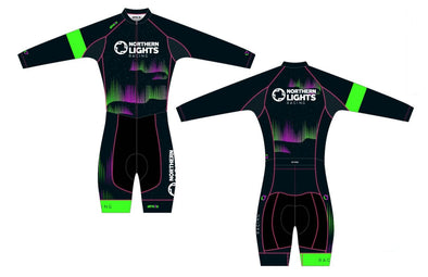 Split-Zero Thermal Skin Suit Women's - Northern Lights Racing