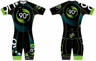 Chronos Tri Suit Short Sleeve Men's - 90+ Cycling