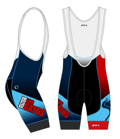 Split-Zero Bib-Short Men's (Reflex) - Los Gatos